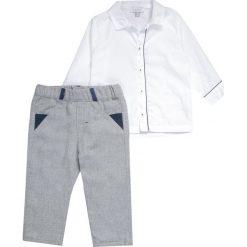Chinosy chłopięce: Absorba CÉRÉMONIE SET Spodnie materiałowe gris chiné
