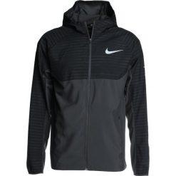 Kurtki do biegania męskie: Nike Performance ESSENTIAL HOODED Kurtka do biegania anthracite/reflective silver