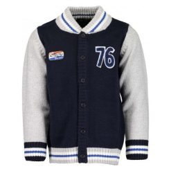 Odzież chłopięca: Blue Seven Chłopięcy Sweter 128 Szary/Niebieski