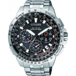 ZEGAREK CITIZEN Satellite Wave CC9020-54E. Czarne zegarki męskie CITIZEN. Za 6990,00 zł.