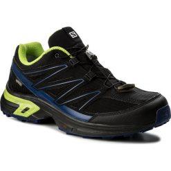 Buty do biegania męskie: Buty SALOMON - Wings Access 2 Gtx GORE-TEX 398604 32 W0 Black/Black/Blue Depths