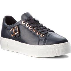 Sneakersy TAMARIS - 1-23715-21 Navy Leather 848. Niebieskie sneakersy damskie Tamaris, z materiału. Za 289,90 zł.