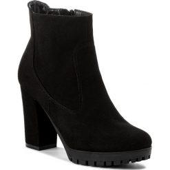 Botki OLEKSY - 474/147 Czarny. Szare buty zimowe damskie marki Oleksy, ze skóry. W wyprzedaży za 279,00 zł.