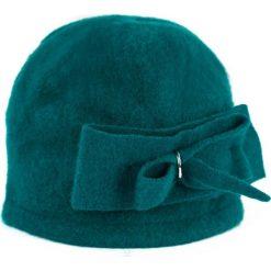 Czapka  damska Podwójny szyk morska (cz14337). Zielone czapki zimowe damskie Art of Polo. Za 54,70 zł.