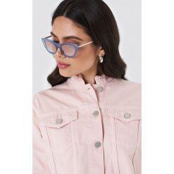 Okulary przeciwsłoneczne damskie aviatory: Le Specs Okulary przeciwsłoneczne Enchantress – Blue