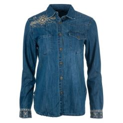 Desigual Koszula Damska Exotic Classic Xs Niebieski. Niebieskie koszule wiązane damskie Desigual, xs. Za 399,00 zł.
