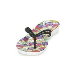 Japonki Crocs  CROCS ISABELLA FLIP W. Różowe japonki damskie marki Crocs, z materiału. Za 129,00 zł.