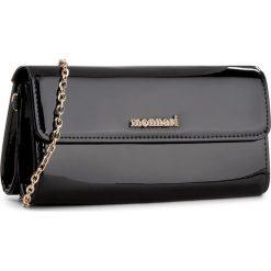 Torebka MONNARI - BAG9150-020 Black Lacquer. Brązowe torebki klasyczne damskie marki Monnari, w paski, z materiału, średnie. W wyprzedaży za 99,00 zł.