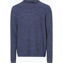 Nils Sundström - Sweter męski, niebieski. Niebieskie swetry klasyczne męskie Nils Sundström, l, z bawełny. Za 179,95 zł.