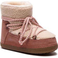 Buty zimowe damskie: Buty INUIKII - Boot Curly 70101-16 Cream