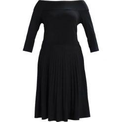 Sukienki hiszpanki: Anna Field Curvy DRESS WITH PLEATED SKIRT Sukienka z dżerseju black