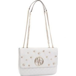 Torebka GUESS - HWSG69 89210  WHI. Białe torebki klasyczne damskie marki Guess, z aplikacjami, ze skóry ekologicznej. Za 629,00 zł.