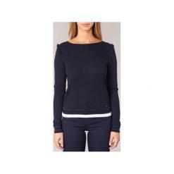 Swetry Armani jeans  JAUDI. Czarne swetry klasyczne damskie marki Armani Jeans, z jeansu. Za 566,30 zł.