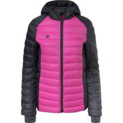 Bomberki damskie: Kurtka w kolorze różowo-czarnym