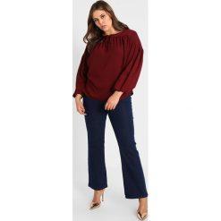 Bluzki asymetryczne: Simply Be PEASENT DETAILED Bluzka oxblood red