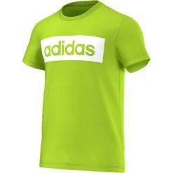 Adidas Koszulka męska Lin Tee zielona r. XL (AK1808). Zielone koszulki sportowe męskie Adidas, m. Za 83,20 zł.