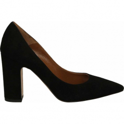 Czółenka - 1052 CAM NERO. Czarne buty ślubne damskie Venezia, ze skóry. Za 249,00 zł.