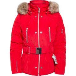 Kurtki dziewczęce przeciwdeszczowe: Kurtka narciarska POIVRE BLANC Czerwony