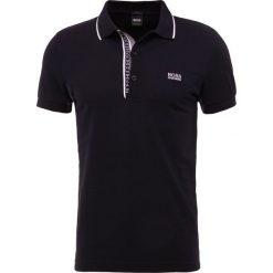 BOSS ATHLEISURE PAULE SLIM FIT Koszulka polo black. Niebieskie koszulki polo marki BOSS Athleisure, m. Za 419,00 zł.