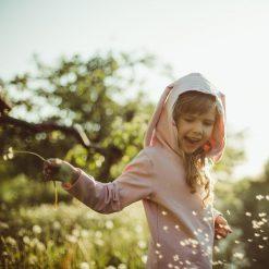 Bluzki dziewczęce: Bluzka w ananaski z uszami