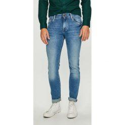 Tommy Hilfiger - Jeansy Bleecker. Niebieskie jeansy męskie slim marki TOMMY HILFIGER. Za 399,90 zł.