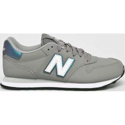 New Balance - Buty. Szare buty sportowe damskie New Balance, z gumy. W wyprzedaży za 259,90 zł.