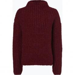 Review - Sweter damski z dodatkiem moheru, różowy. Szare swetry klasyczne damskie marki Review, l, z tkaniny, z okrągłym kołnierzem. Za 179,95 zł.