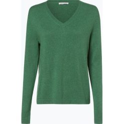 Apriori - Sweter damski z mieszanki jedwabiu i kaszmiru, zielony. Niebieskie swetry klasyczne damskie marki Apriori, l. Za 449,95 zł.