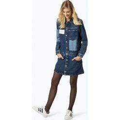 Sukienki: Calvin Klein Jeans - Sukienka damska, niebieski