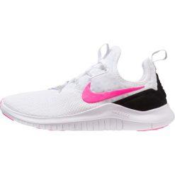 Nike Performance FREE TR 8 Obuwie treningowe white/pink blast/black. Białe buty sportowe damskie marki Nike Performance, z materiału. Za 419,00 zł.