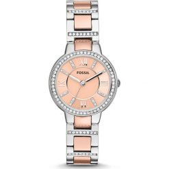 Zegarek FOSSIL - Virginia ES3405  2T Silver/Rose/Silver/Steel. Różowe zegarki damskie marki Fossil, szklane. Za 509,00 zł.