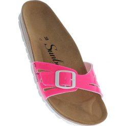 """Chodaki damskie: Klapki """"Freezia"""" w kolorze różowym"""