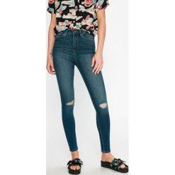 Vero Moda - Jeansy Sophia. Niebieskie jeansy damskie marki Vero Moda, z bawełny. W wyprzedaży za 79,90 zł.