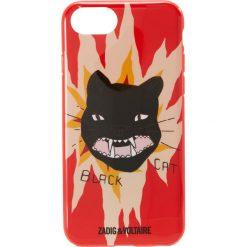 Torebki klasyczne damskie: Zadig & Voltaire BLACK CAT  Etui na telefon red