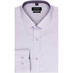 Koszula bexley 2500 długi rękaw slim fit w. Fioletowe koszule męskie na spinki Recman, m, z bawełny, z klasycznym kołnierzykiem, z długim rękawem. Za 129,00 zł.