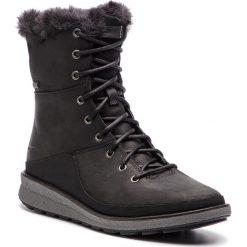 Śniegowce MERRELL - Trembland Ezra Lace Polar Wp J95110 Black. Czarne buty zimowe damskie Merrell, z materiału. W wyprzedaży za 419,00 zł.