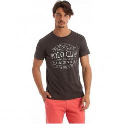Polo Club C.H..A T-Shirt Męski M Brązowy. Niebieskie koszulki polo marki Oakley, na lato, z bawełny, eleganckie. W wyprzedaży za 119,00 zł.