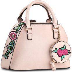 Torebka JENNY FAIRY - RC13316  Różowy Jasny. Czerwone torebki klasyczne damskie marki Jenny Fairy, ze skóry ekologicznej, duże. Za 119,99 zł.