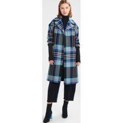 Płaszcze damskie pastelowe: Topshop BRIGHT CHECK LONGLINE Płaszcz wełniany /Płaszcz klasyczny multicoloured