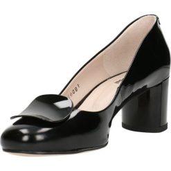 Czółenka ERI. Czarne buty ślubne damskie Gino Rossi, z lakierowanej skóry, na szpilce. Za 309,90 zł.