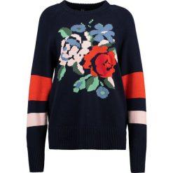 Swetry klasyczne damskie: YAS YASSALLY  Sweter night sky