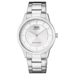 Zegarek Q&Q Męski Klasyczny QA44-201 srebrny. Szare zegarki męskie Q&Q, srebrne. Za 123,51 zł.