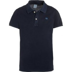 Scotch Shrunk GARMENT DYED  Koszulka polo night. Niebieskie bluzki dziewczęce bawełniane marki Scotch Shrunk. Za 129,00 zł.