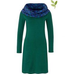 """Sukienki hiszpanki: Sukienka """"Valence"""" w kolorze zielonym"""