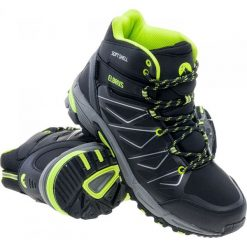 Buty trekkingowe męskie: ELBRUS Buty męskie Gabby Mid WP Black/Lime r. 43