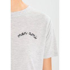 T-shirty damskie: Whistles MON AMI Tshirt basic grey marl