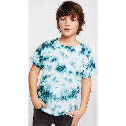 Mango Kids - T-shirt dziecięcy Snake 110-164 cm. Szare t-shirty chłopięce marki Mango Kids, z bawełny, z okrągłym kołnierzem. W wyprzedaży za 29,90 zł.