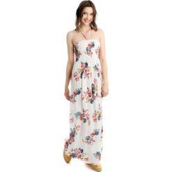 Sukienki hiszpanki: Sukienka – 20-666A BIANC