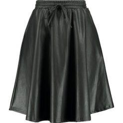Spódniczki trapezowe: Noisy May NMMILTON KNEE SKIRT Spódnica trapezowa black