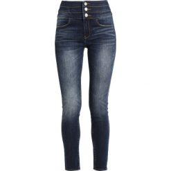 Miss Sixty GEMMA TROUSERS Jeans Skinny Fit blue denim. Czarne rurki damskie Miss Sixty, z bawełny. Za 539,00 zł.